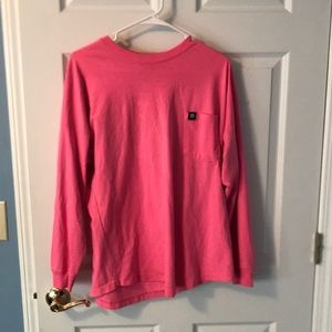 Large fitted Long sleeve top